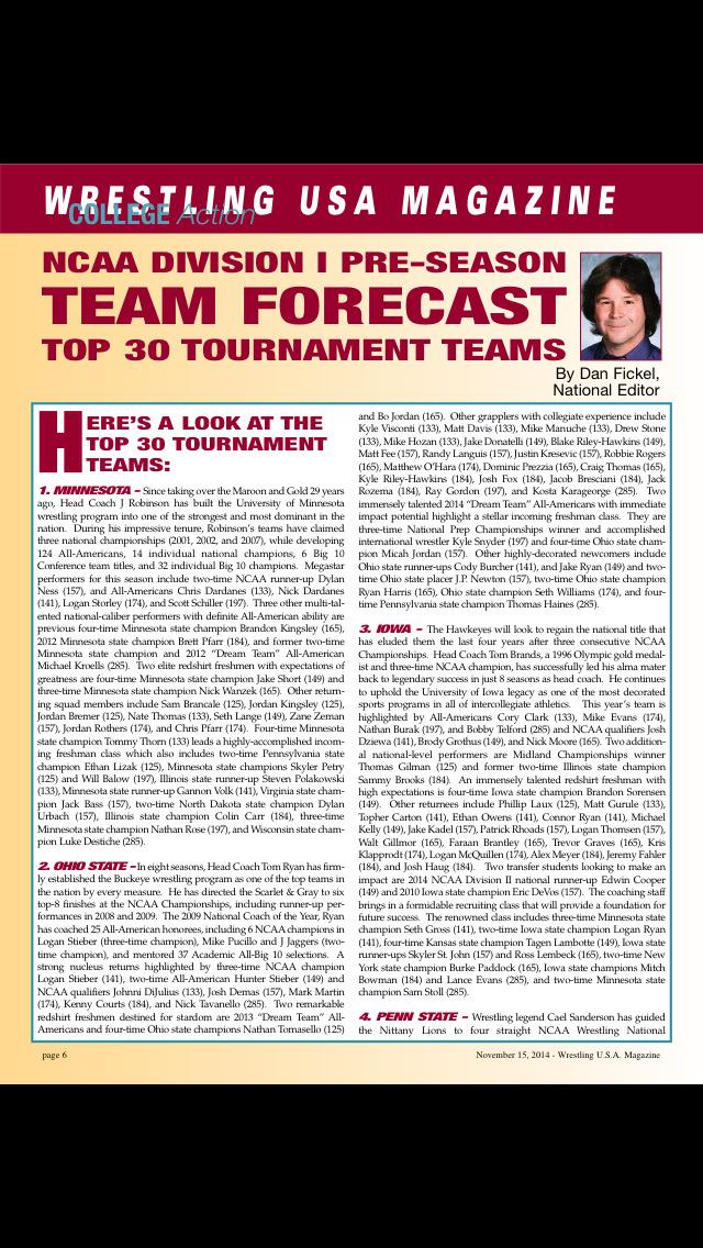 Wrestling USA Magazine screenshot 2