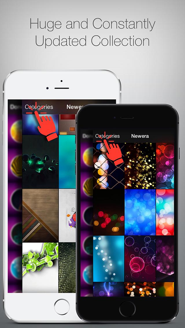 Newera - 1080P Wallpapers for iOS 10 screenshot 3