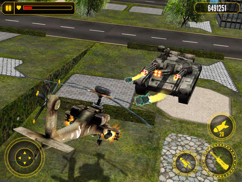 Helicopter Battle Combat 3D screenshot 6