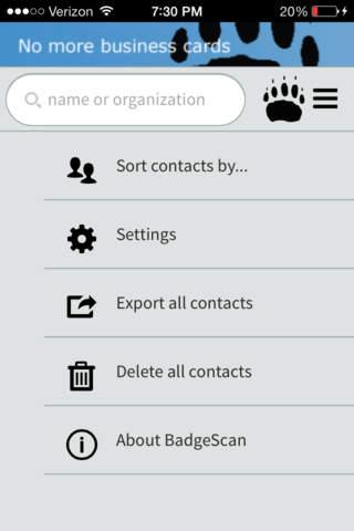 BadgerScan - náhled
