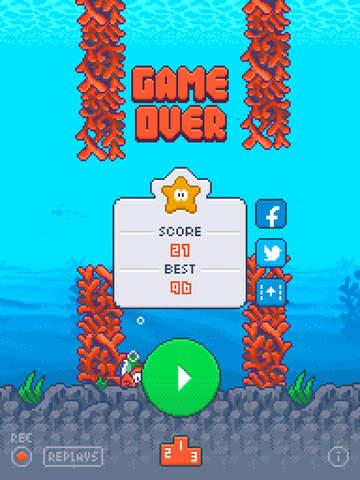 Clumsy Fish screenshot 6