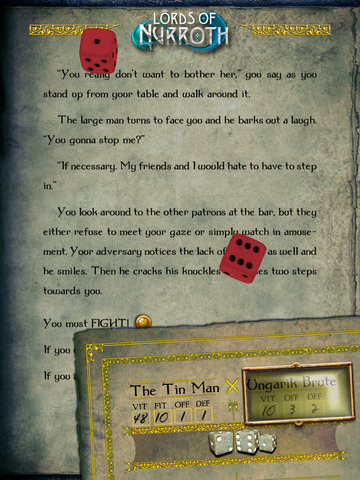Gamebook Adventures 10: Lords of Nurroth screenshot 9
