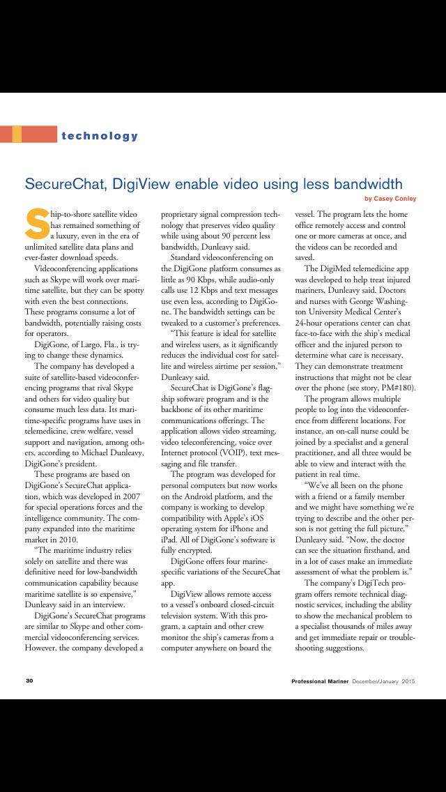 Professional Mariner Magazine screenshot 4