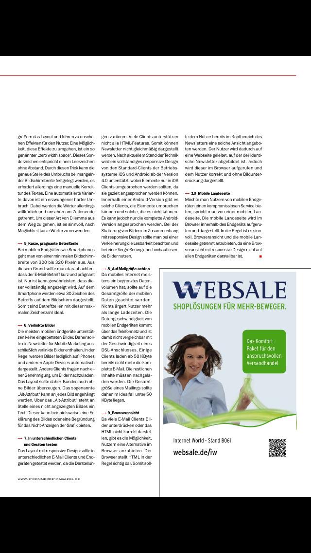 ecommerce Magazin screenshot 3