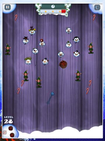 Snowman Shot - Free Fire Ball Shooter Arcade Game screenshot 7