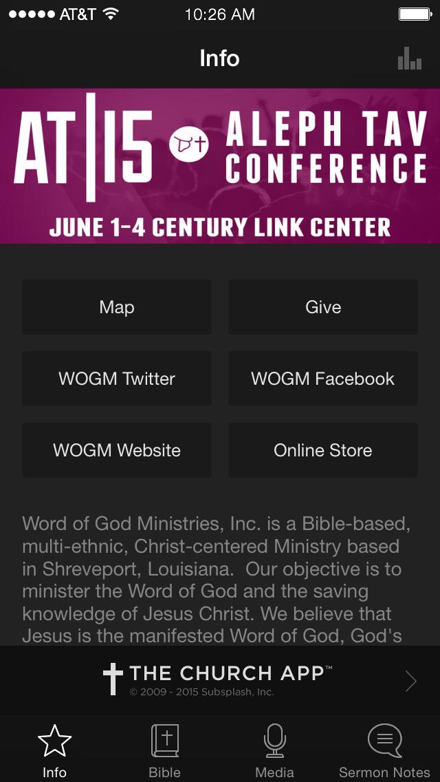 Word of God Ministries screenshot 1