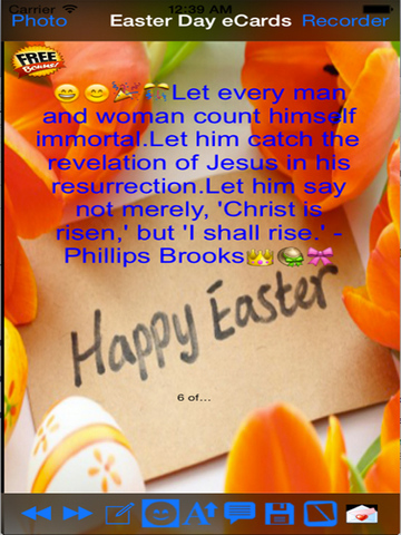 Happy Good Friday and Easter Day e-Cards screenshot 8