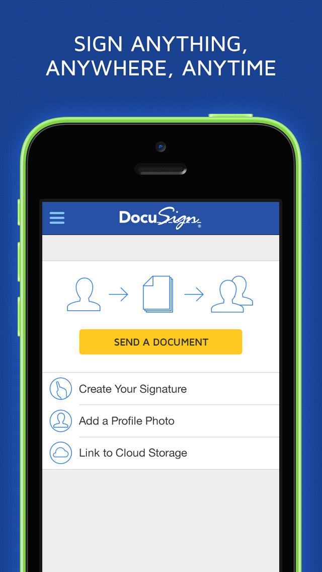 DocuSign - Upload & Sign Docs screenshot 2