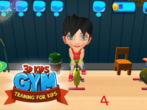 3D Kids Gym Training for kids screenshot 9