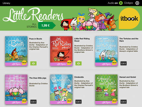 Little Readers' Classic Tales. Itbook screenshot 9