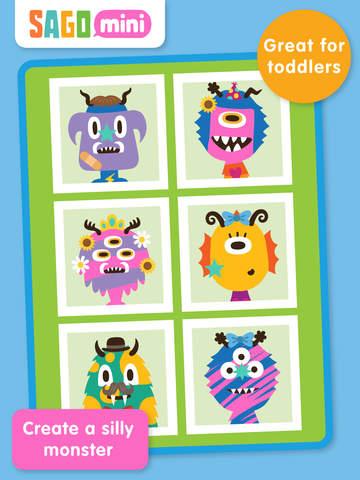 Sago Mini Monsters screenshot 6