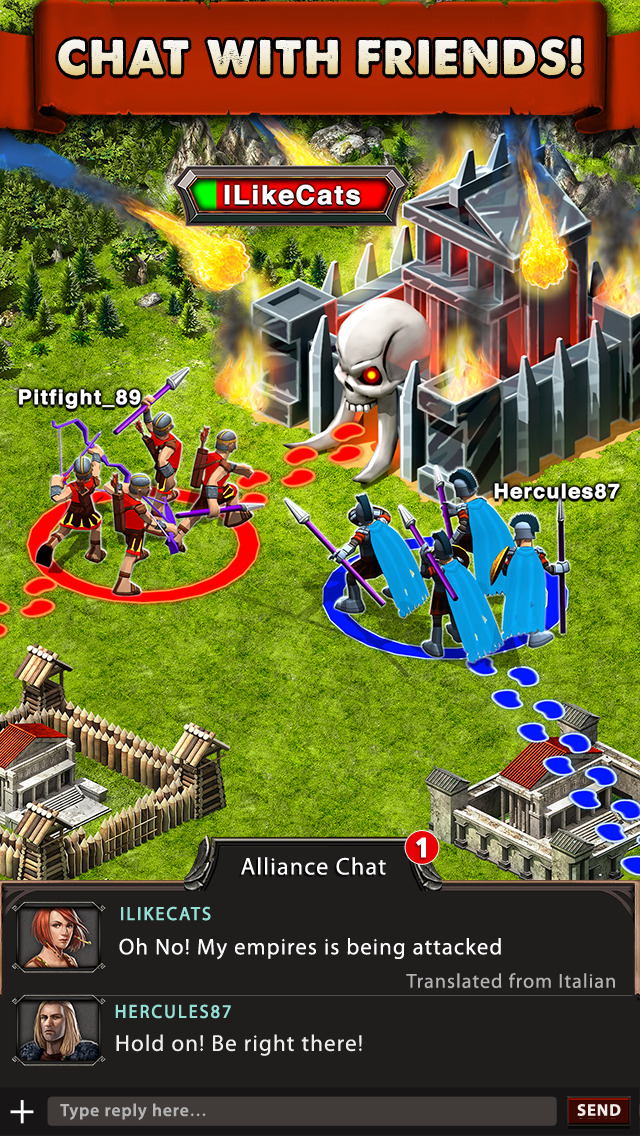Game of War - Fire Age screenshot 3