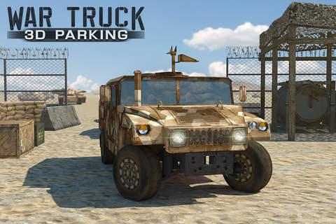 War Truck 3D Parking - náhled
