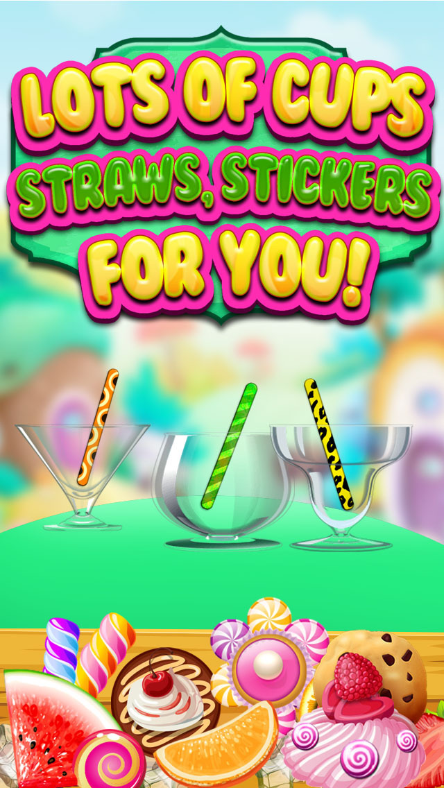 """ A Froyo King Mogul – Frozen Yogurt Customizer Dessert Maker Mania Free screenshot 4"