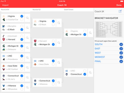 ESPN Tournament Challenge screenshot 6