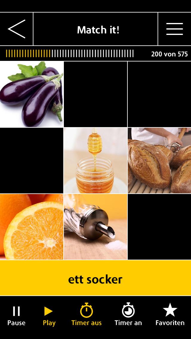 Schwedisch Vokabeltrainer Langenscheidt IQ - Vokabeln lernen mit Bildern screenshot 4