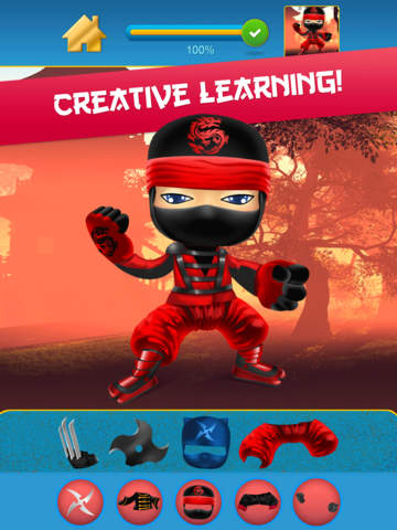 My Mega Power Ninja Hero Design & Copy Crazy Game screenshot 8