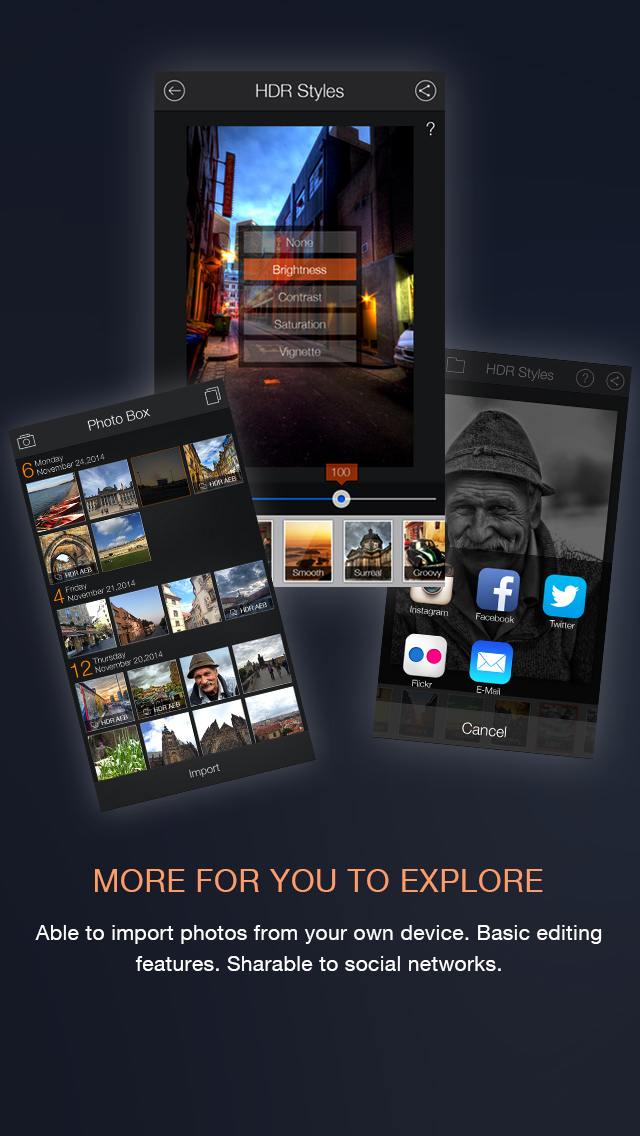 Fotor HDR – HDR Camera & High Resolution Images Creator screenshot 5