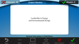 LEED® BD&C Flashcards: Building Design & Construction screenshot 4