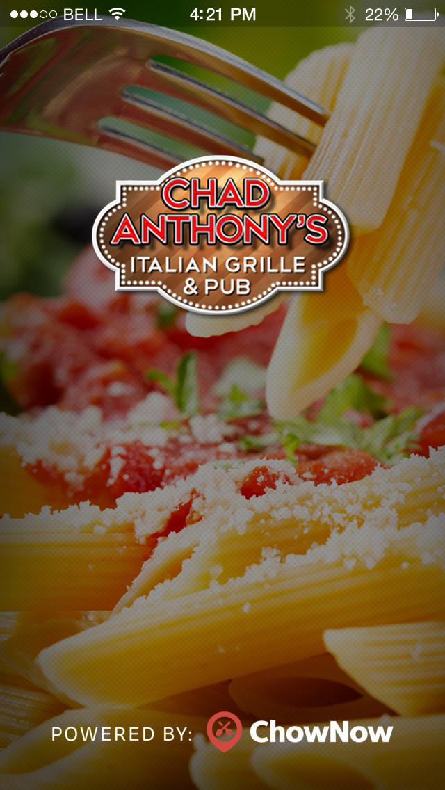 Chad Anthony's Italian Grille screenshot 1