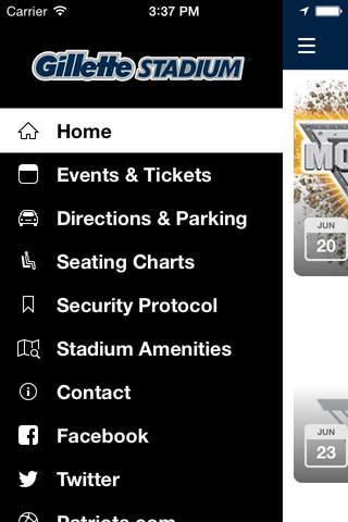 Gillette Stadium - náhled
