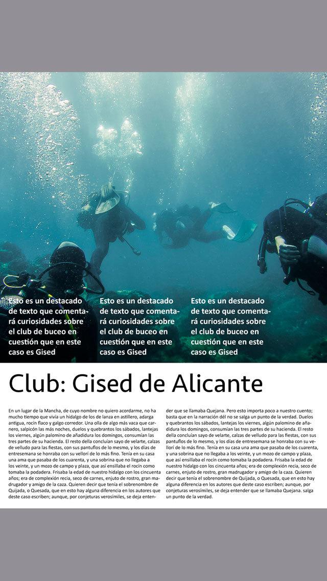 7Mares. Revista de buceo y actividades subacuáticas screenshot 2