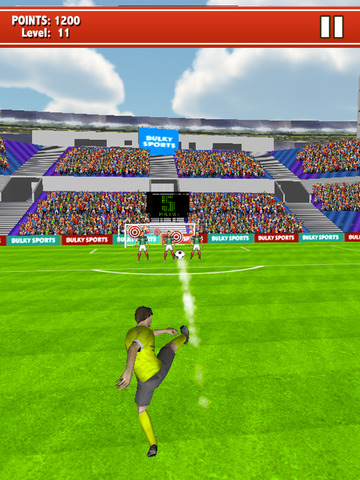 Soccer Kicks 2015 - Ultimate football penalty shootout game by BULKY SPORTS screenshot 6