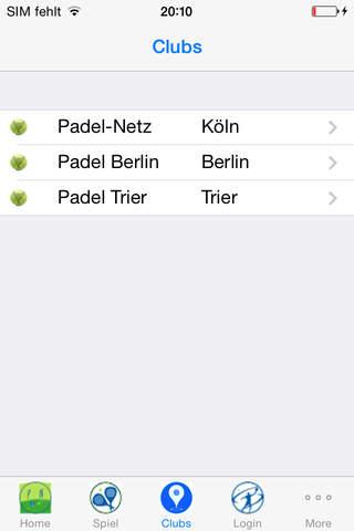 Padel-Netz - náhled