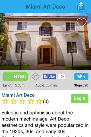 Miami Art Deco Tour - náhled