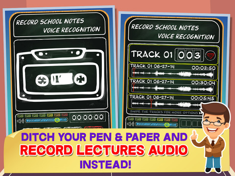 Record School Notes - Voice Recognition screenshot 4