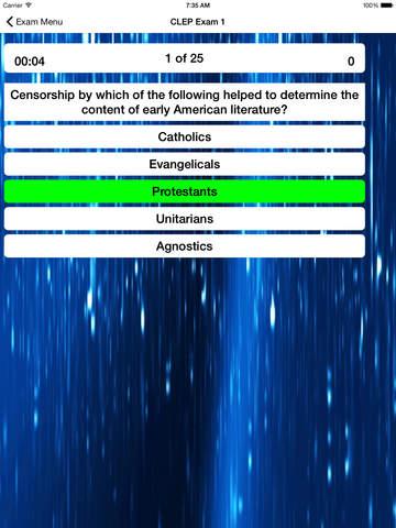 CLEP American Literature Prep screenshot 8