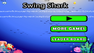 Swing Shark Pro : Shooting Game Of Fishes Battle screenshot 1