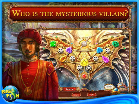 European Mystery: The Face of Envy HD - A Detective Game with Hidden Objects screenshot #3
