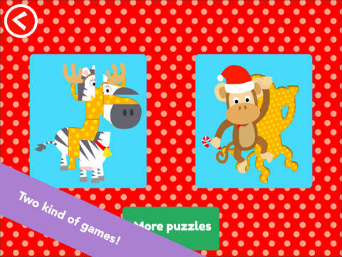 Math Tales Puzzle - Christmas in the Jungle screenshot 4