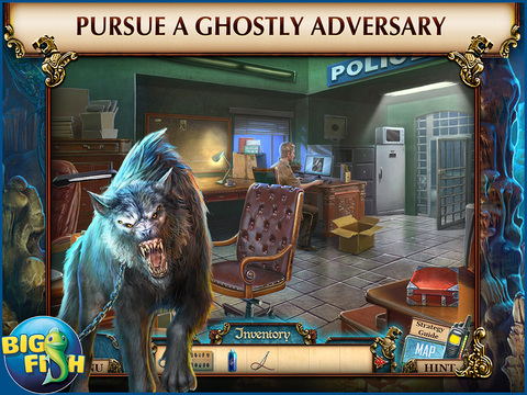 Ghosts of the Past: Bones of Meadows Town HD - A Supernatural Hidden Objects Game screenshot 2