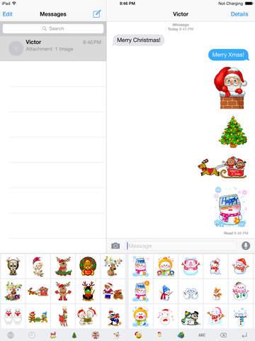 Christmas GIF Keyboard screenshot 6