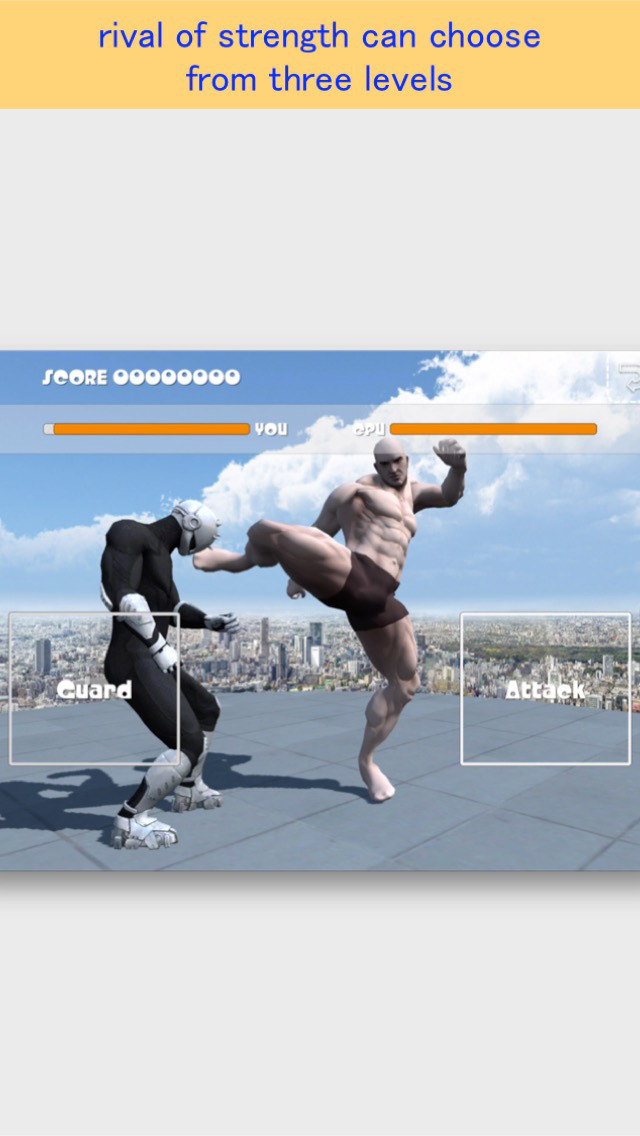 Rooftop Fighter FREE screenshot 5