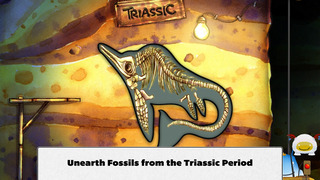 Ansel & Clair: Triassic Dinosaurs - A Fingerprint Network App screenshot 2