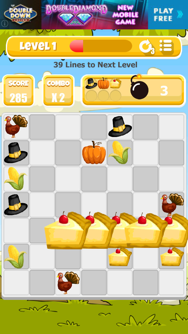 A Thanksgiving Match Game screenshot 3