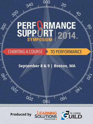 Performance Support Symposium screenshot 3