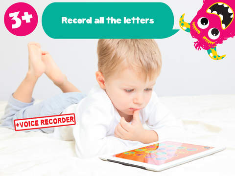 My first alphabet and letters monster puzzle Jigsaw Game for toddlers and preschoolers screenshot 9