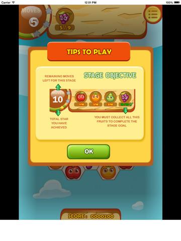 Fruita Swipe Free Game screenshot 9