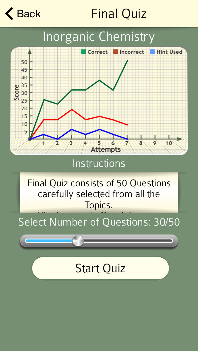 High School : Inorganic Chemistry FREE screenshot 3