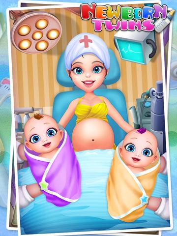 Newborn Twins Baby Care - Kids Games & New Baby screenshot 4