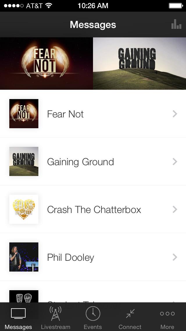 Champions Centre App screenshot 1