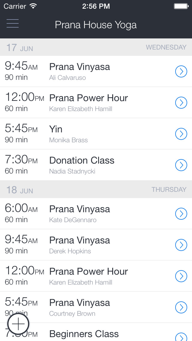 Prana House Yoga screenshot 1