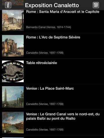 CANALETTO, Rome – Londres – Venise. Le triomphe de la lumière HD screenshot 7