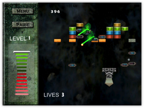 Real Blocks : Space Strike Delta Force screenshot 6