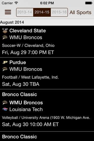 WMU Broncos - náhled