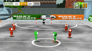 Alby Street Soccer 2015 - Real football game for big soccer stars by BULKY SPORTS screenshot 1